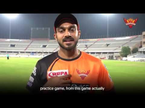 SunRisers Hyderabad   Vijay Shankar On His Match Winning Knock   #OrangeArmy   VIVO IPL 2019