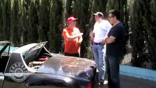 wayne dempsey s porsche 914 6 with adam carolla and sandy ganz on carcast
