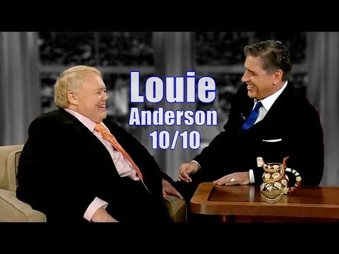 Louie Anderson  A Great Laugh Inducer  1010 Visits In Chron. Order
