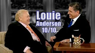 Louie Anderson - A Great Laugh Inducer - 10/10 Visits In Chron. Order
