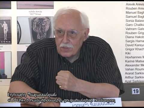 Press Conference - Contemporary Art At the Dawn of the Third Armenian Republic, 2012