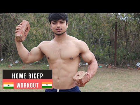 Easy 5 min. Home BICEPS WORKOUT (No Gym Needed)| Muscle Building