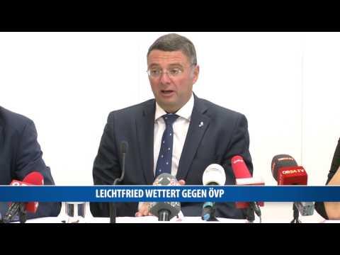 Jörg Leichtfried wettert gegen die ÖVP