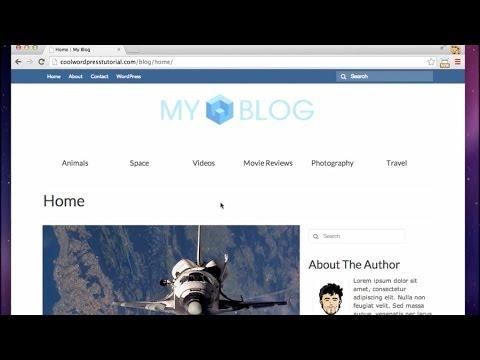 Cómo crear un Blog con WordPress - 2014 (Paso a Paso) - YouTube