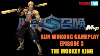 Space Time Calls Gameplay - Ep.3: The Monkey King | Sun Wukong [MVP] Update 2.0.2