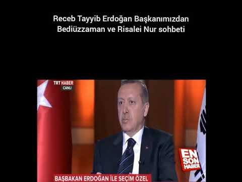 Recep Tayyip Erdoğandan Risaleinur Ve Bediüzzaman Dersi