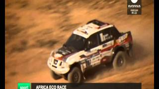 AFRICA ECO RACE 2016 -EURONEWS 29/12/15
