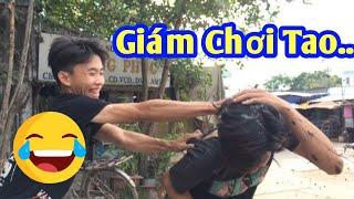 Quốc Nghĩa Bị Phản Dame Ngay Tại Chợ | Nguyễn Hải