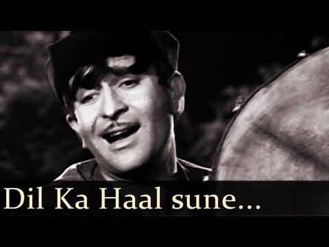 Shree 420  Dil Ka Haal Sune Dilwala  Manna Dey
