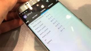 Samsung Galaxy S7, control de temperatura
