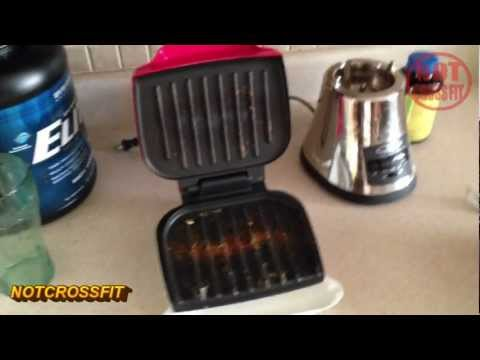 Super easy way to clean a forman grill