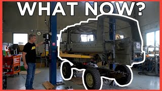homepage tile video photo for HERE'S What's Happening on the 71' Pinzgauer EV CONVERSION