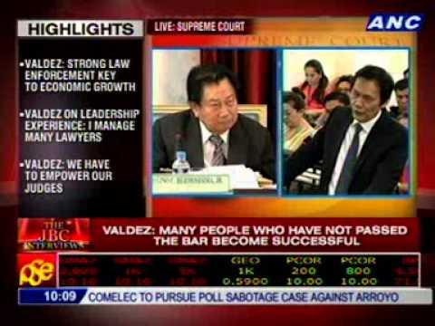 #CJsearch: Dean AMADO D. VALDEZ