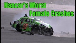 Nascar's Worst Female Crashes