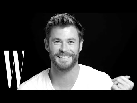 Chris hemsworth on kissing his wife in thor and losing role to liam screen tests w magazine