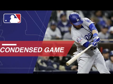 Condensed Game: LAD@SD - 4/17/18