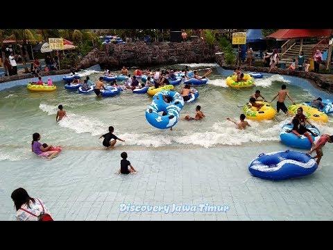 Seru Kolam Ombak Di Saygon Water Park Pasuruan 2018 Hd