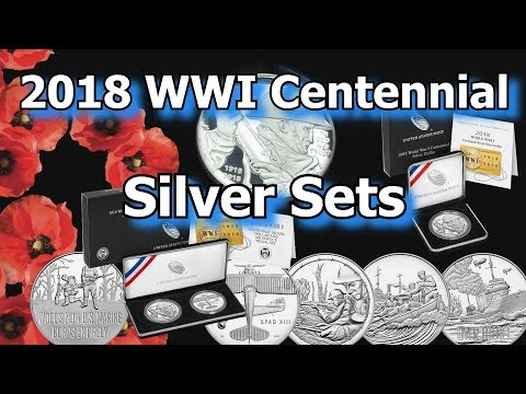 US Mint 2018 Centennial Silver Dollar and Companion Medal Sets Released