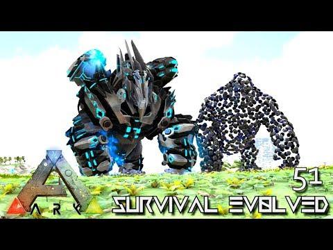ARK: SURVIVAL EVOLVED - OMEGA MEGAPITHECUS E51 !!! ( ARK EXTINCTION CORE MODDED )