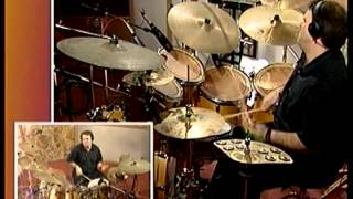 online Free Drum Lessons with Peppe Merolla For Serious Drummers Only Vol One Part One