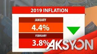 Inflation noong Pebrero, bumaba sa 3.8%