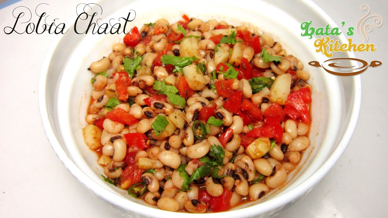 Lobia chaat recipe video indian vegetarian salad recipe in hindi lobia chaat recipe video indian vegetarian salad recipe in hindi latas kitchen youtube forumfinder Image collections