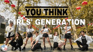 [KPOP IN PUBLIC] GIRLS' GENERATION (소녀시대) 'YOU THINK' ONE TA…