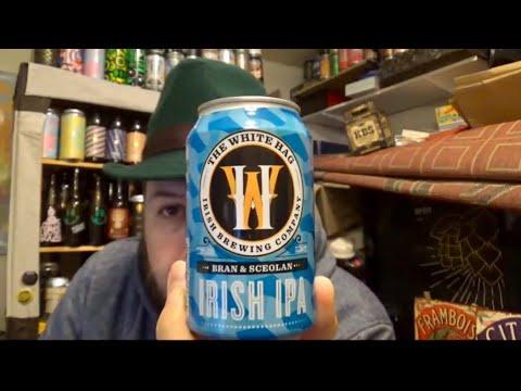 #886 White Hag Brewing Co   Bran & Sceolan Irish IPA 7.2%ABV (Irish Craft Beer)
