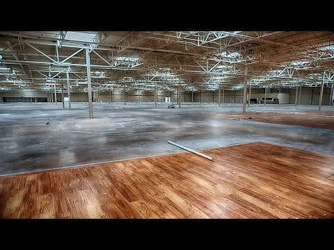 Abandoned: Urban Explorer Inside Closed Walmart (Flammable Non Supercenter)