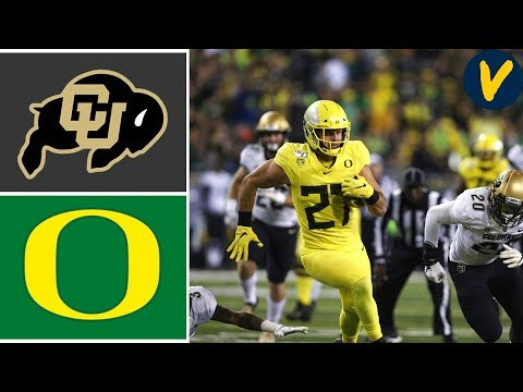 Colorado vs #13 Oregon | Week 7 | College Football Highlights | 2019