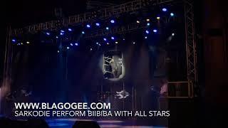 Sarkodie Bibi Ba Performance With Kofi Mole Tulenky Amerado Others At 2018 Rapperholic Concert