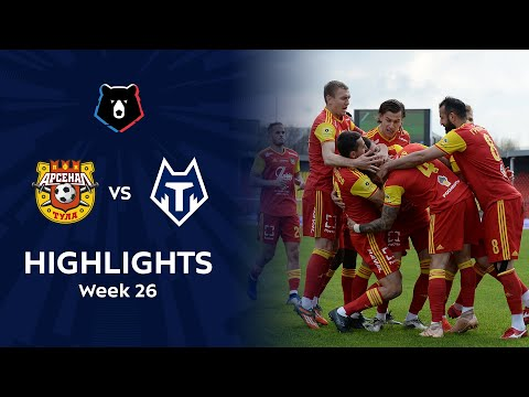 Arsenal Tula FC Tambov Goals And Highlights