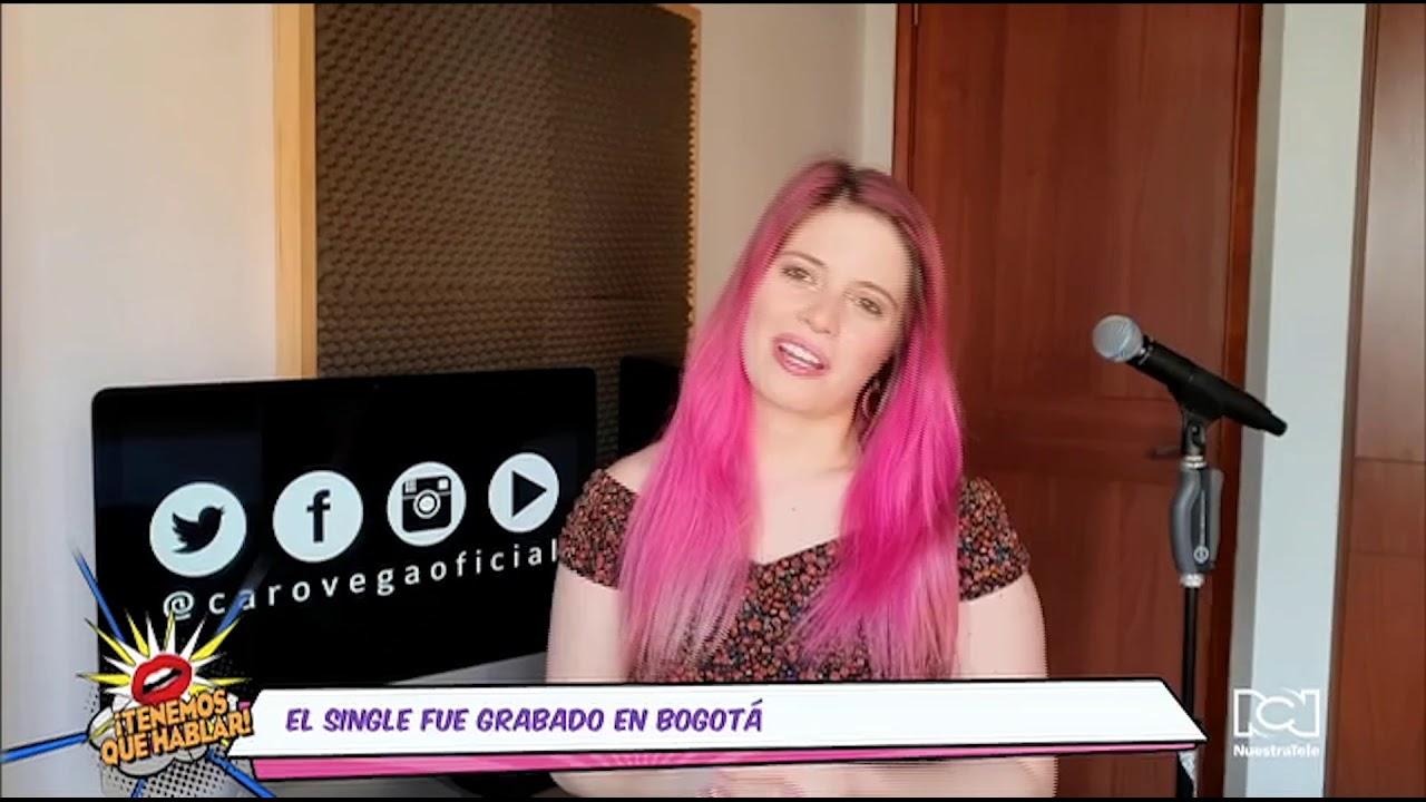 """""""Me enamora"""" es el nuevo sencillo de la caleña Carolina Vega"""