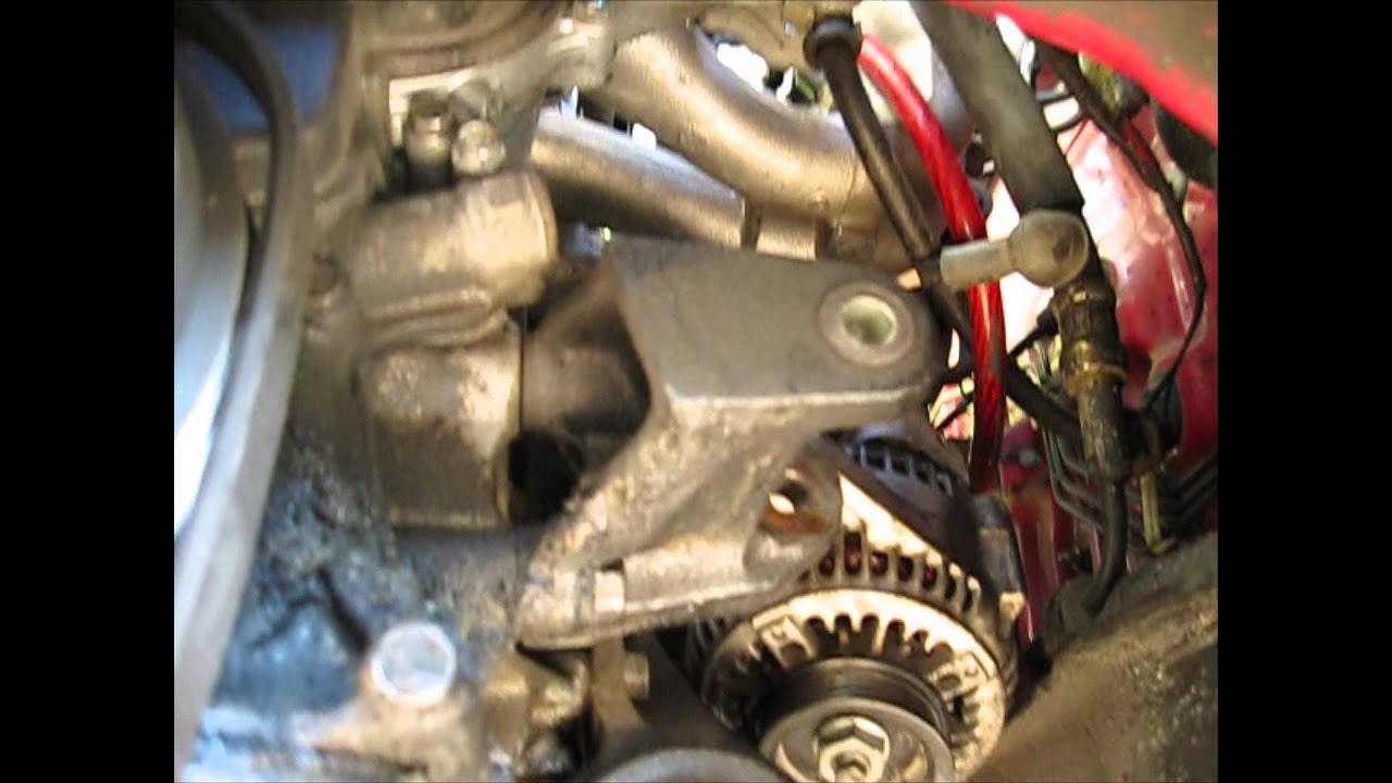 How To Replace A Alternator In A Integra YouTube - Acura alternator