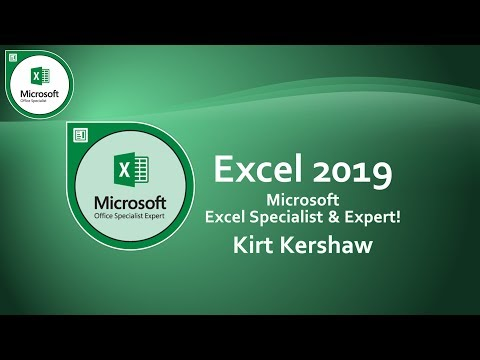 Microsoft Excel 2019 Tutorial for Beginners – How to Use Excel Part 1