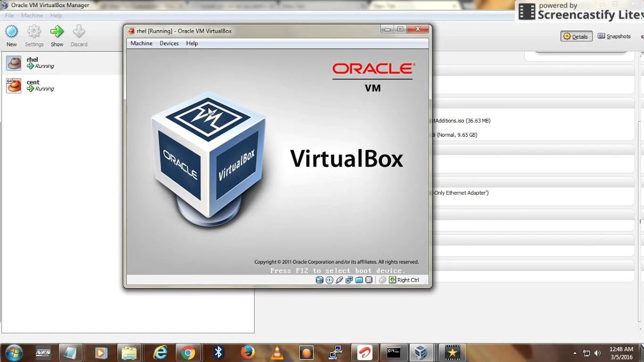 How to share Host internet with Oracle Virtual Machine