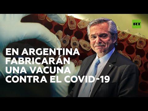 RT en Español: Alberto Fernández anuncia la fabricación en Argentina de la vacuna de Oxford contra el coronavirus