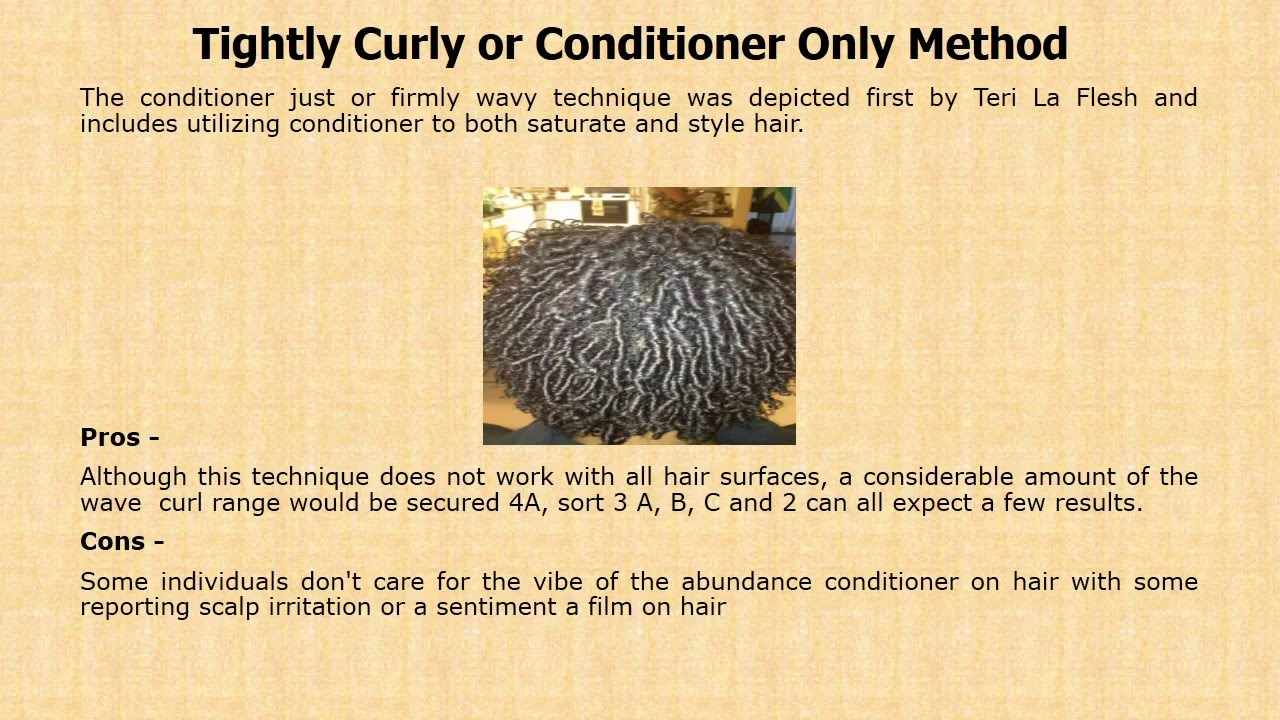 Natural Curly Hair Improving Strategies - Taren Guy - YouTube