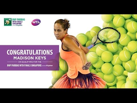 Madison Keys Qualifies For 2016 WTA Finals