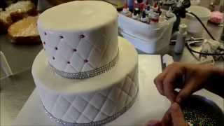 How to make Diamond patterns birthday cake