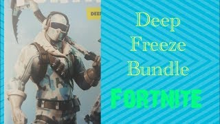 "How to redeem the ""Deep Freeze Bundle"" [Fortnite]"