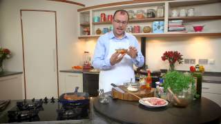 Ian Orr Family Favourites 2014-marinated Spicy Pork Chops With A Creme Fraiche And Chilli Sauce