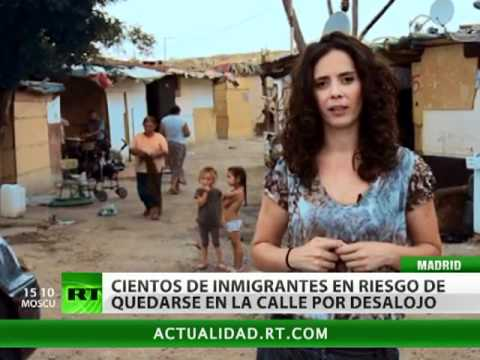 España: centenares de gitanos rumanos, al borde del desalojo