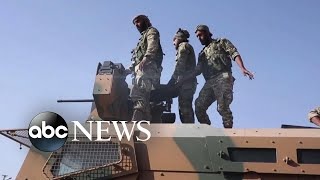 thousands-people-escape-warfare-syria-abc-news