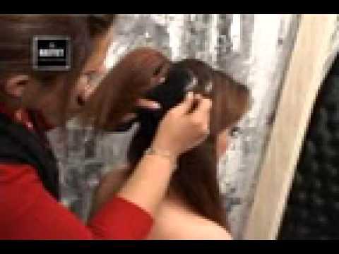 le palais de la beauté \u0026quot;hayet\u0026quot; démonstrations coiffure et maquillage part 4 , YouTube