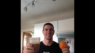 Herbalife Chocolate Orange Shake With Real Oranges