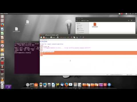 LINUX TUTORIAL: Script sh - wifi signal monitor real time