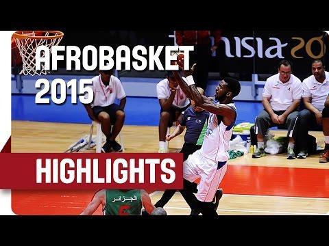 Cape Verde v Algeria - Game Highlights - Group D - AfroBasket 2015