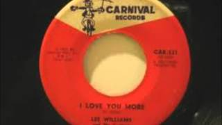 I Love You More - Lee Williams & The Cymbals 1966