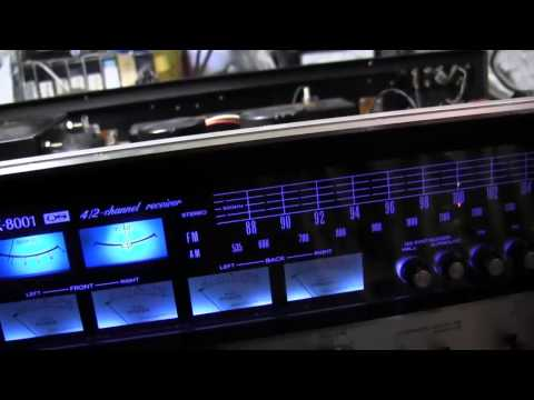 How to change stereo lamps - Sansui lamp change to LED